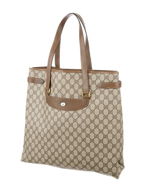 gucci vintage gg  tote handbags guc