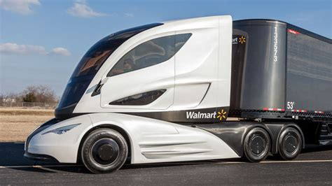 this futuristic truck was actually designed by walmart