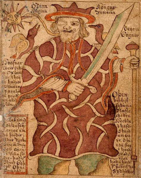 why odin is one eyed norse mythology for smart people