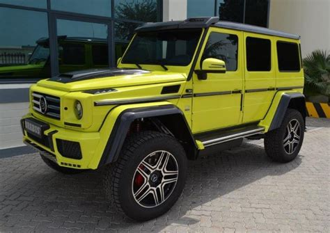 Brabus Mercedes G500 4x4 In Uae
