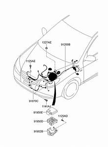 919502h010 - Hyundai Lower Cover  R Junction Box