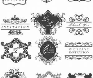 Wedding invitation frames vector | Vector Graphics Blog
