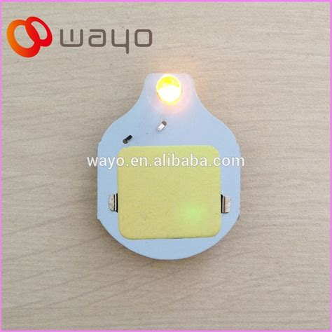 Led Lichter Einzeln by Einzelne Gelbe Farbe Single Led Bewegungsmelder Licht