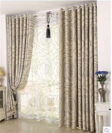 rideau pour chambre adulte pas cher simple moderne rideau chambre rideaux fini
