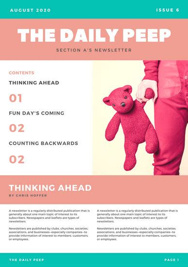 customize  newsletter templates  canva