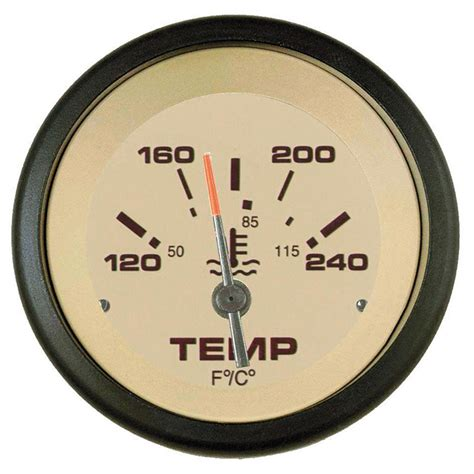 teleflex 174 2 quot gauges water temp kit i o i b 144381 instruments gauges at