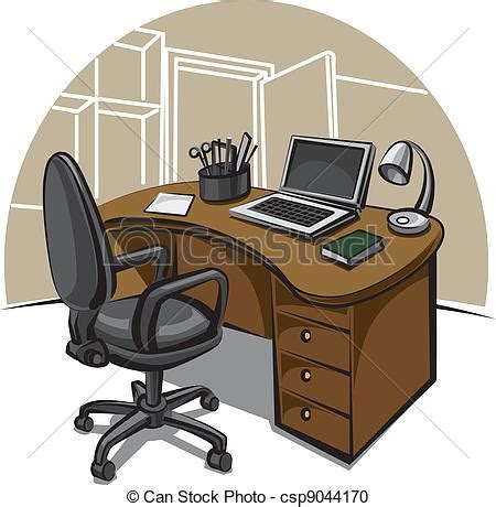 clipart bureau vector clipart of office work place csp9044170 search