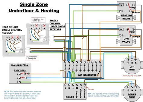 13 more underfloor heating wiring diagram combi photograph