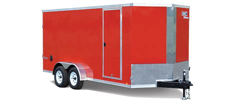 Small Enclosed Cargo Trailer