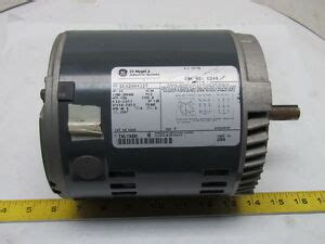 Electric Motor Information by General Electric 5k42hn4127 3ph Ac Motor 1 2hp 1725 Rpm