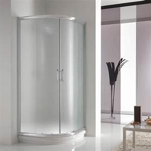Viertelkreis Duschkabine 80x80 : duschkabine 80x80 satiniert glas h185 duschabtrennung ~ Watch28wear.com Haus und Dekorationen