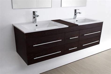 meuble salle de bain vasque sam weng vasque cramique 2 miroirs 140 cm 015 w