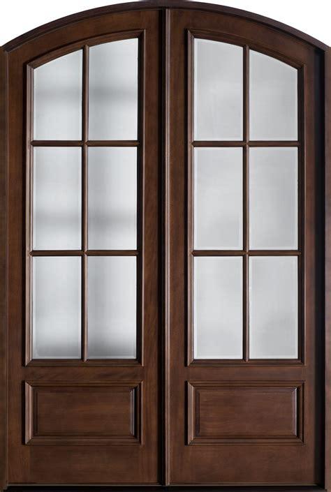 Custom Exterior Doors by Front Door Custom Solid Wood With Walnut Finish