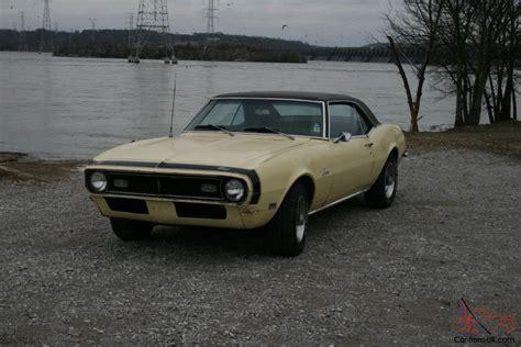 Camaro Barn by 1968 Chevrolet Camaro Barn Find True Survivor Rod