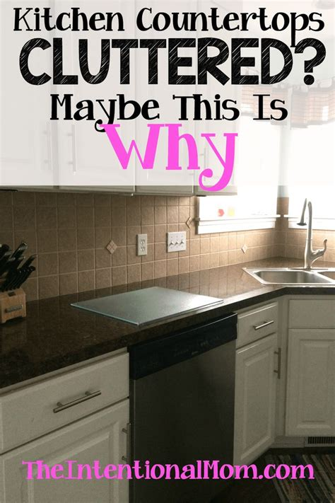 Kitchen Bench Clutter by Kitchen Counter Clutter Maybe This Is Why Organization