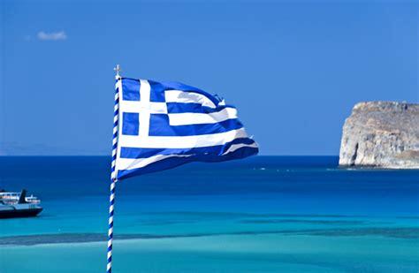 Kreta Foto - Griechische Flagge auf Kreta - Bildergalerie ...