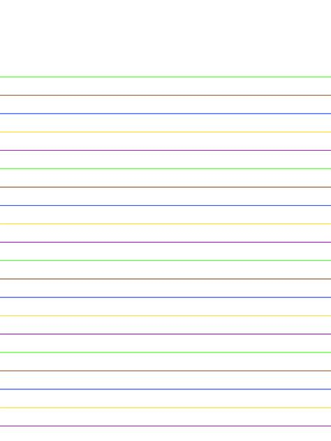 colored lined paper lined stationary lined paper stationary