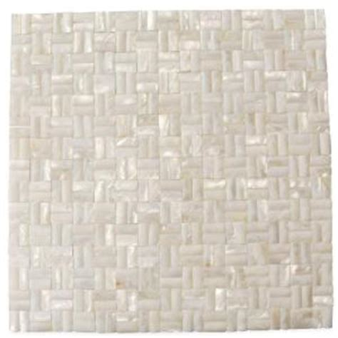 groutless floor tile home depot splashback tile of pearl serene white 12 in x 12