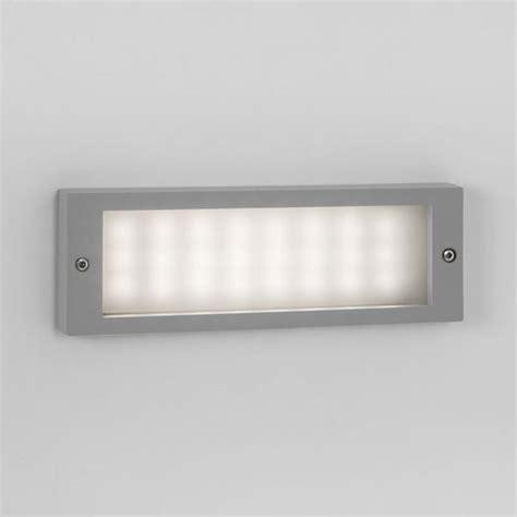 astro brick led brick light recessed wall light 2 4w led