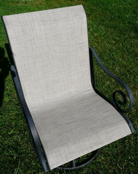 replace patio sling chair fabric outdoor furniture replacement slings winston modern