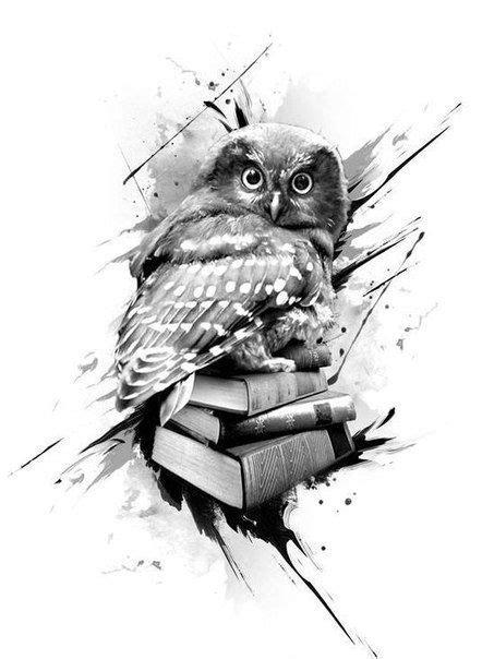 Owl tattoo image by Rod on Art   Book tattoo, Owl tattoo