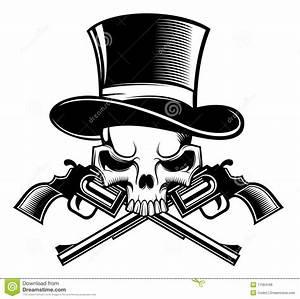 Cowboy Skull And Guns   www.imgkid.com - The Image Kid Has It!