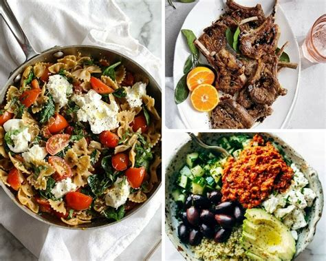 8 easy mediterranean diet recipes balancing bucks