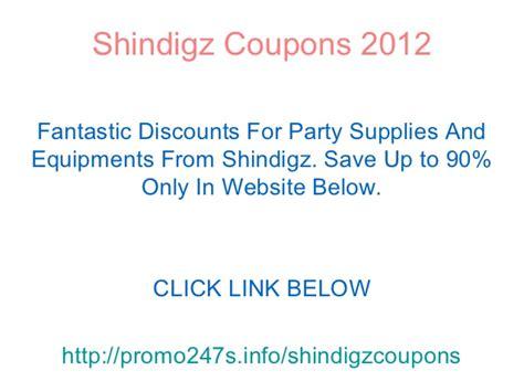 95919 Shindigz Promo Code by Shindigz Coupons Discounts Promo Code November 2012