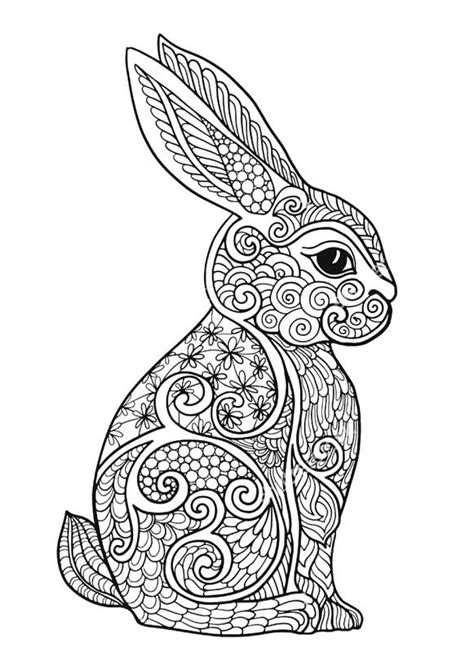 bunny coloring pages  adults  getcoloringscom  printable colorings pages  print