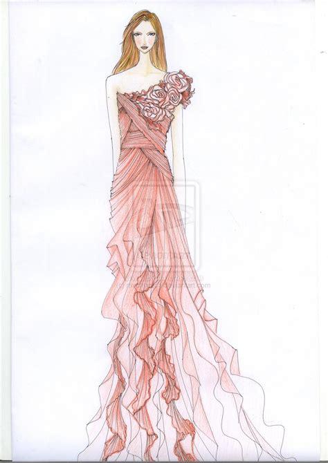 Fashion Design Dresses by Fashion Design Sketches Of Dresses 2016 2017 Fashion