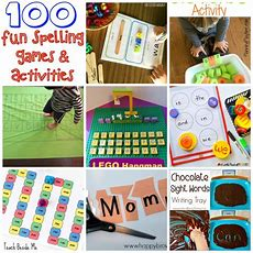 100 Fun Spelling Games And Activities!  Teach Beside Me