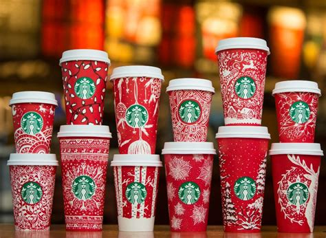 meet  customers  designed starbucks holiday red cups