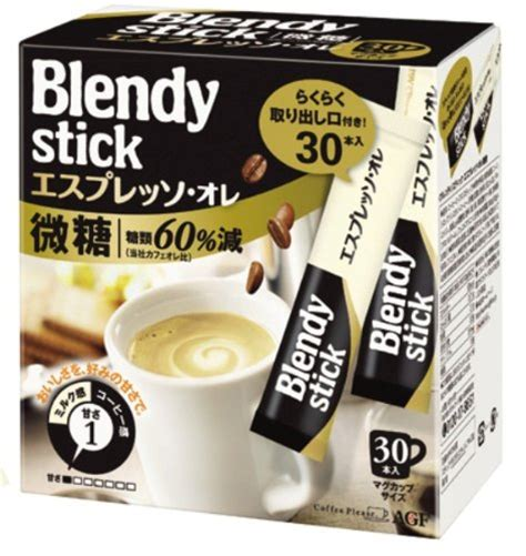 Amazon best sellers our most popular products based on sales. Blendy Stick Cafe espresso au lait 30 sets from Japan | eBay