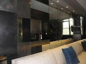 Miroir Deco Salon : d coration contemporaine d cor mural verre et m tal ~ Melissatoandfro.com Idées de Décoration
