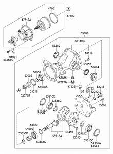 2008 Hyundai Tucson Coupling Assembly - 4wd  Propeller