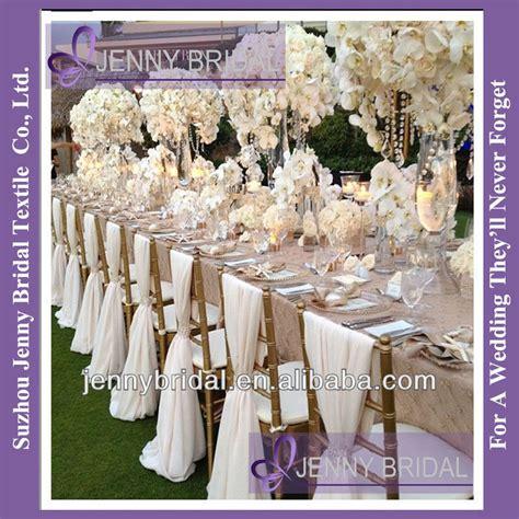 sh043b new sale popular white chiffon chiavari wedding