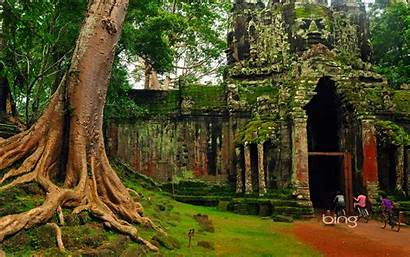 Bing Cambodia Wallpapers Backgrounds Scenery Weekly Tours