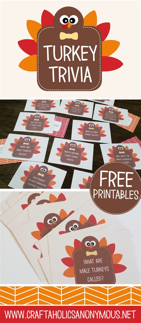 craftaholics anonymous thanksgiving table craft turkey