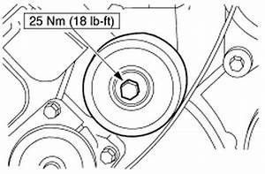 How Hard Is Replacing The Belt Tensioner On A 2000 Ford