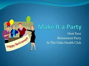 Retirement party powerpoint templates toneelgroepblik Images