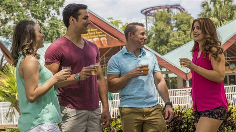 busch gardens brings beer