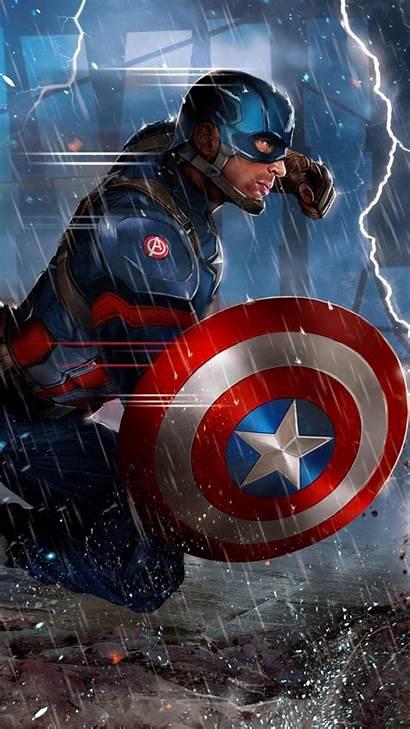 Captain America Iphone Shield Phone