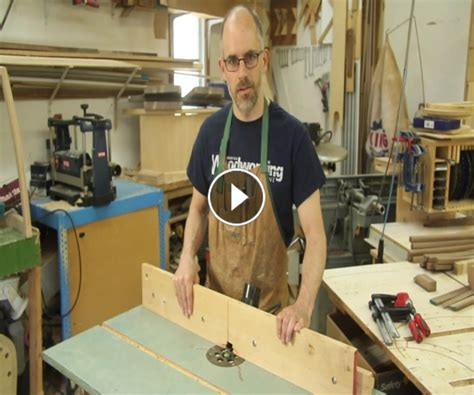 Incredible Woodworking » Router Table Split Fence