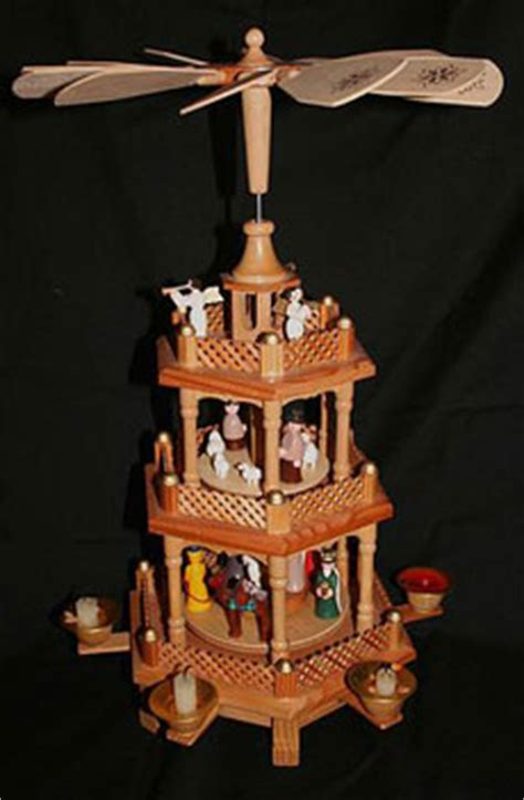 wonders  german christmas pyramids auction finds