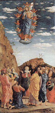 """Als hochfest wird die """"ascensio domini bzw. Christi Himmelfahrt - Wikipedia"""