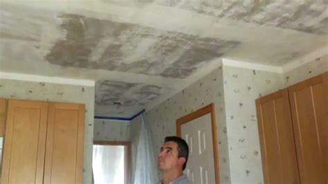 remove popcorn ceilings  texture ceilings youtube