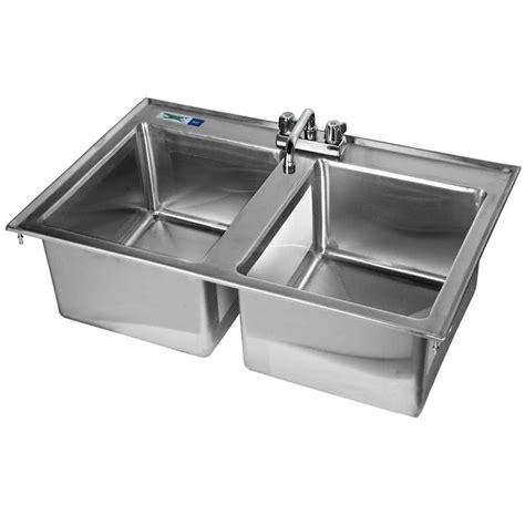 16 gauge stainless steel sink nantucket sinks 16 gauge stainless steel rectangle