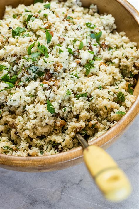 Mediterraneanstyle Cauliflower Rice  Everyday Good Thinking