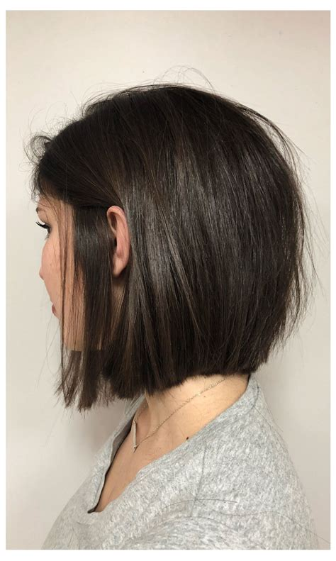 blunt bob  layers mid cut   cabelo ideias
