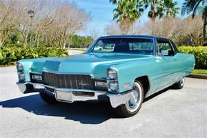 1968 Cadillac Coupe DeVille 2-Owners 30,640 Original Miles ...